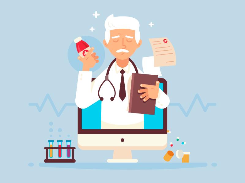 طراحی سایت پزشکی کاربردی در 3 قدم همراه با نمونه سایت پزشکی